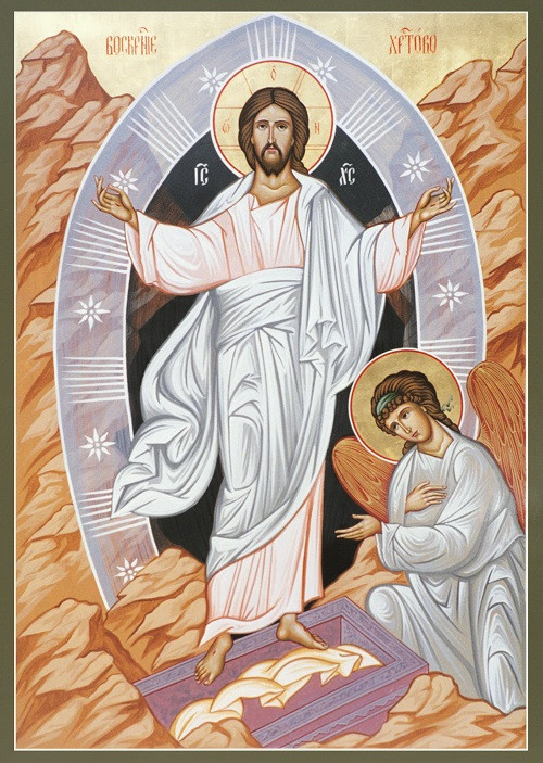 The Resurrection, large icon - Ancient Faith Store