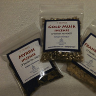myrrh incense, 1 ounce package