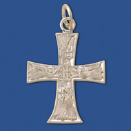 Angel Cross, sterling silver