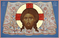 Christ Mandylion, medium icon