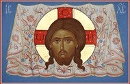 Christ Mandylion, large icon