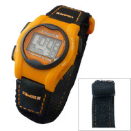 Global VibraLITE MINI Vibrating Watch with Orange/Black Band