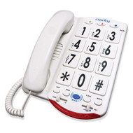 Clarity JV35W Amplified Talking Telephone with Braille