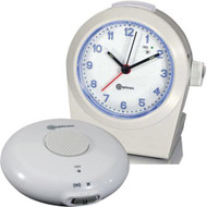 Amplicom TCL 100 Vibrating Alarm Clock - with Wireless Bed Shaker