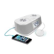 iLuv TimeShaker Micro Vibrating Alarm Clock - White