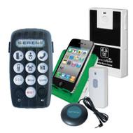Serene Innovations CentralAlert CA-380 Wearable Notification System with Audio Sensor and Doorbell Transmitter
