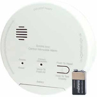 Gentex GN-503FF Hard Wired Smoke/Carbon Monoxide Photoelectric Alarm with Backup