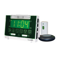 Serene Innovations CentralAlert CA-360 Clock/Receiver Notification System with Doorbell Transmitter