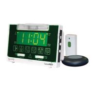 Serene Innovations CentralAlert CA-360 Clock/Receiver Notification System with Doorbell Transmitter