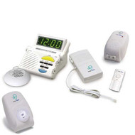 Sonic Alert Sonic System SS1200C Signaling Combo - Doorbell, Clock and Phone
