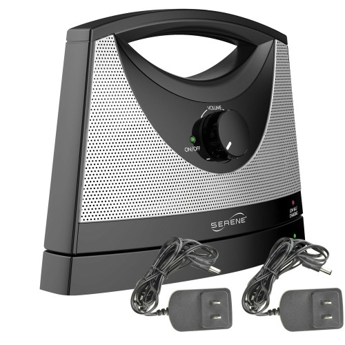 Serene Innovatons T SoundBox with 2 AC adapters