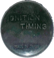Transmission timing plug