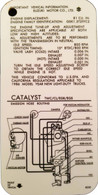 Samurai Vaccum Hose Routings Reference Card