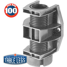 Economy ABS Cabinet and Furniture Leveler - replacementtablelegs.com