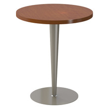 "Tapered Pedestal Base, 27-3/4"" Height, 23-3/4"" Base Diameter, 4""-2"" diameter Column, Tabletop not included - Replacementtablelegs.com"