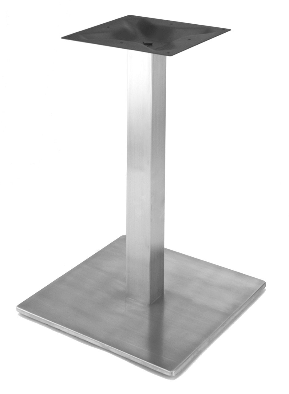 Rostek Nikai Stainless Steel 18 Quot Square Style Pedestal