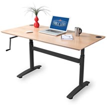 Adjustable Height Desk Frames