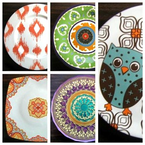 contemporary-urban-chic-decorator-plates-