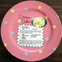 Whimsical Pink Polka Dot Dream Cake Recipe Cute Cake Plate