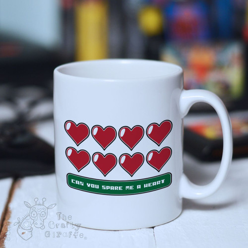 Can you spare me a heart Mug