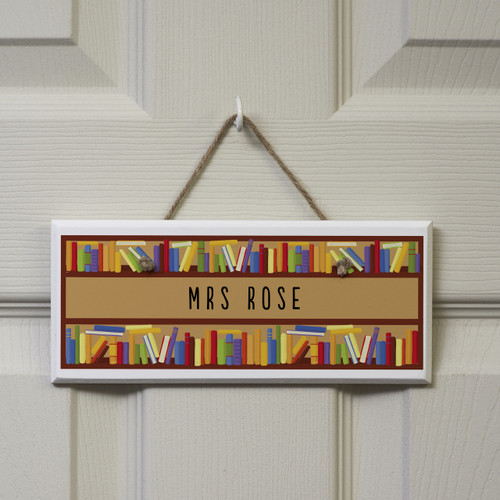 Personalised Books Sign