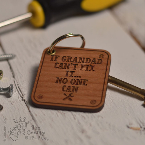 Personalised Fix It Keyring