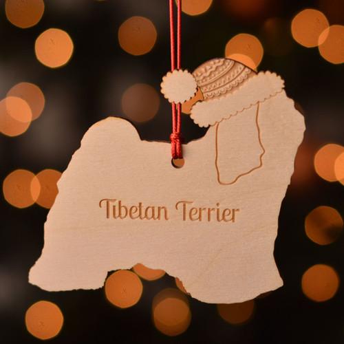 Personalised Tibetan Terrier Dog Decoration