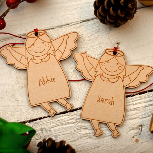 Personalised Angel Girl Decoration..