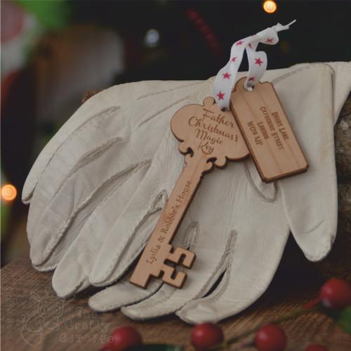 Personalised Santa Key