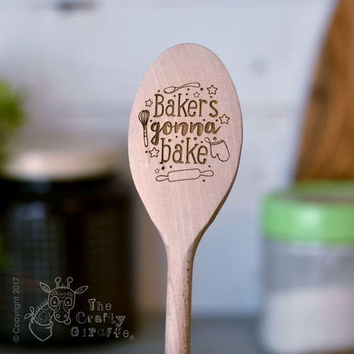 Bakers gonna bake wooden spoon