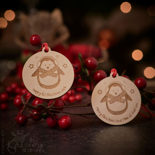 Personalised Penguin Tag