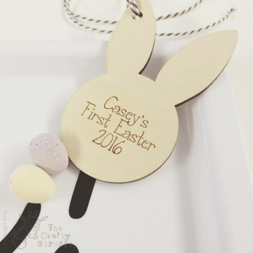 Personalised Bunny Ear Decoration