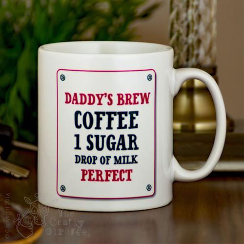 Personalised Mug -  Brew Order