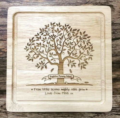 Personalised Teacher Acorn Board