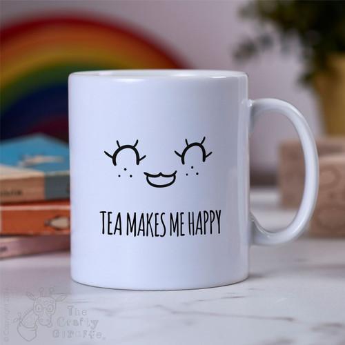 Tea makes me happy Mug