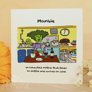 Mombie in the kitchen Card