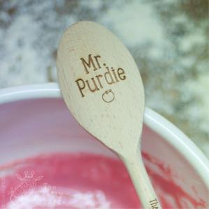 Personalised Teacher Wooden Spoon