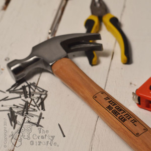 Personalised Hammer - Fix it