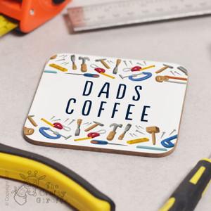Personalised Tools Brew Coaster