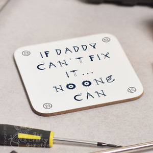 Personalised Fix it Coaster
