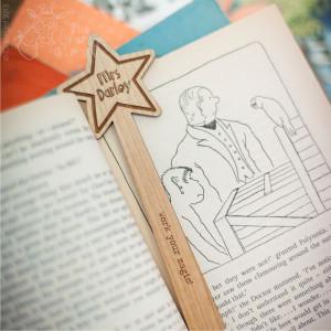 Personalised Wand Bookmark
