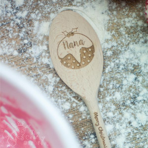 Personalised Christmas Pudding Spoon