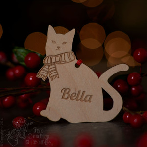 Personalised Cat Decoration