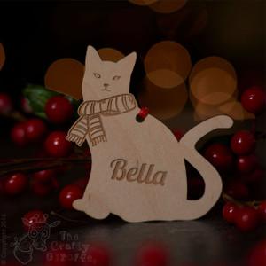 Personalised Cat Decoration