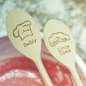 Personalised Chef Hat Spoon
