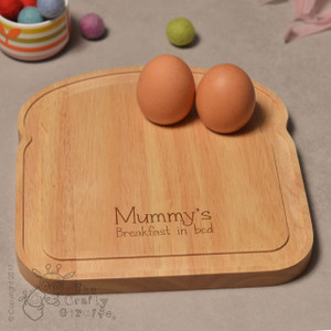 Personalised Breakfast Egg Board - Breakfast in bed