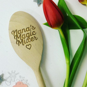 Personalised Magic Mixer Spoon