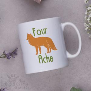Four Fox Ache Mug