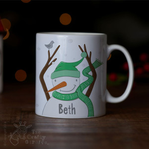Personalised - Snowman Mug