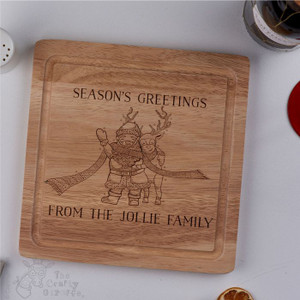 Personalised - Season's Greetings board